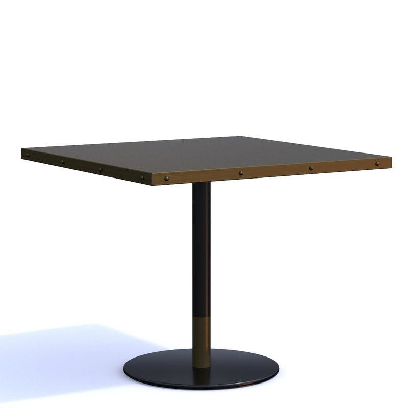 contract chair duplex table 3D model