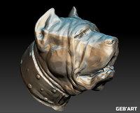 neapolitan mastiff 70 s 3D model