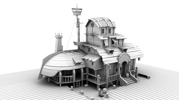exterior set model
