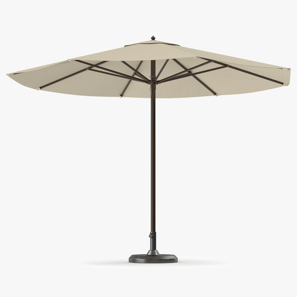 3D umbrella outdoor