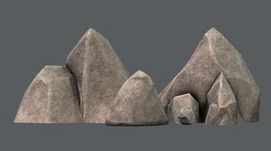 rocks v02 3D