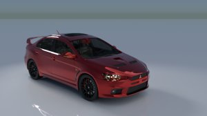 ploy sports car 3D model