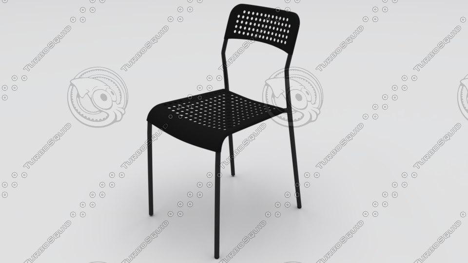3D model chair adde