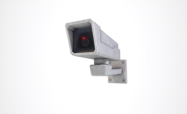 ready security camera 3D model