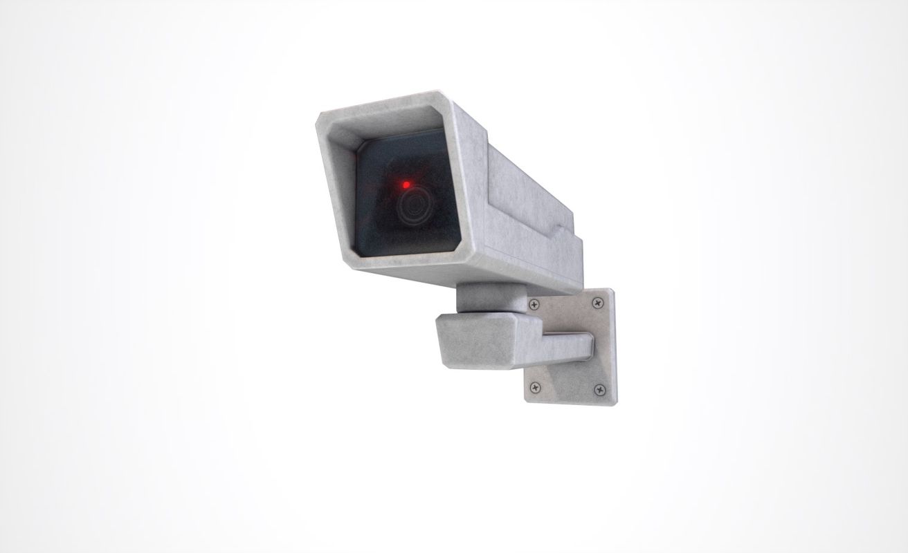 ready security camera 3D model