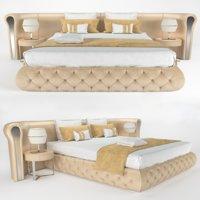 3D rugiano yaton bed model
