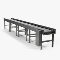 Horizontal Roller Conveyor Belt
