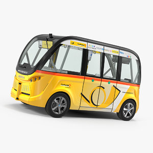 navya arma car postal model