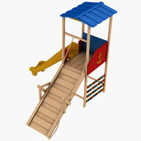 3D playground play ground model