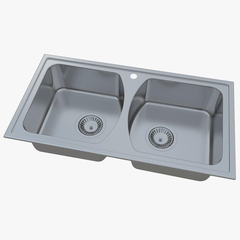 sink oulin ol-333 3D