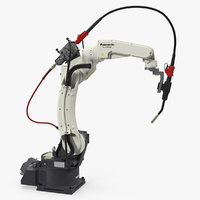 Panasonic TM1400 Welding Robot Rigged