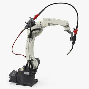 panasonic tm1400 welding robot 3D