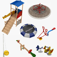 digger swing 3D model