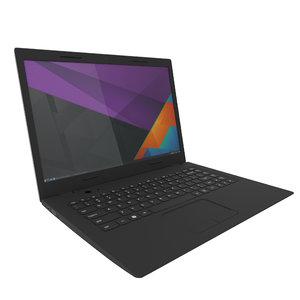 laptop keyboard 3D model