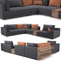 Sofa NATUZZI Melpot sectional 2