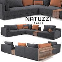 sofa natuzzi melpot 3D model