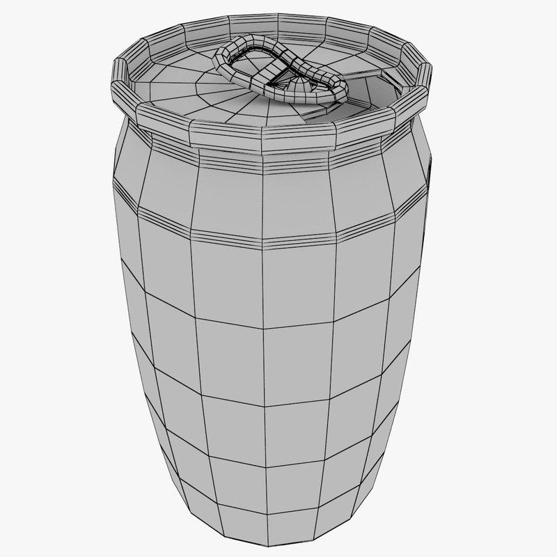 3D aluminum soda