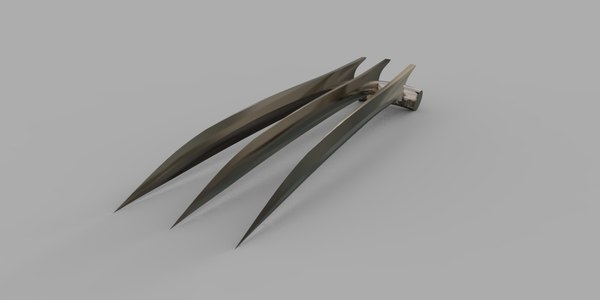 wolverine claws model