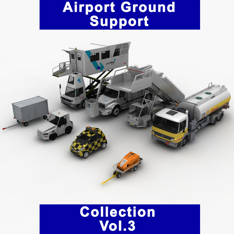 airport ground support vol 3D