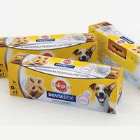 3D dog food model