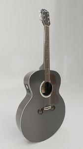 pbr guitar 3D