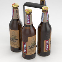 beerbottle beverage 3D model