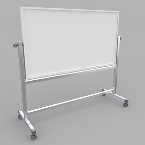 3D whiteboard stand