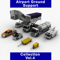 airport ground support vol 4 3D model