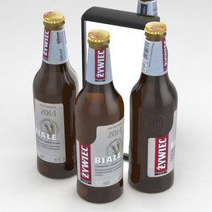 beerbottle beverage 3D