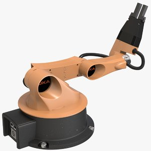 youbot robot arm 3D model
