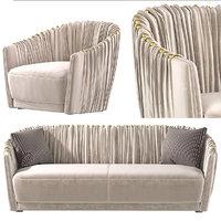 3D sofa armchair sharpei