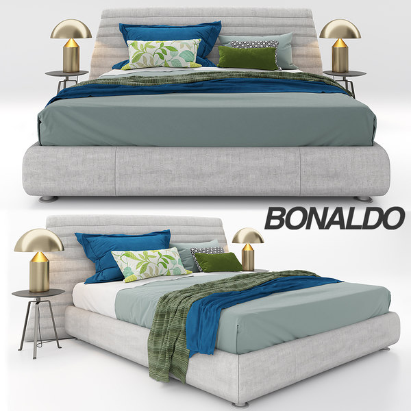 bonaldo kenobi bed 3D model