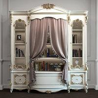 alberto monnalisa bookcase 3D model