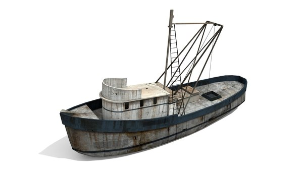 boat fishing model