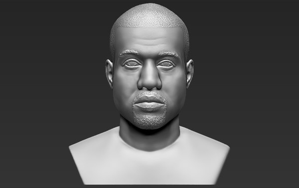 kanye west bust ready model