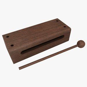 wood block color 2 model