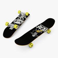 skateboard skate board 3D model