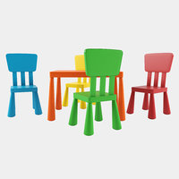 3D table chairs mammut ikea