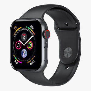 3D apple watch 4 series