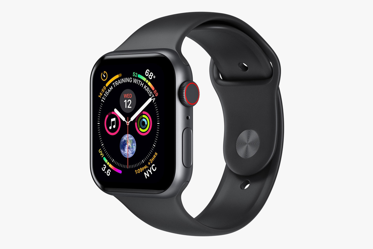 3D apple watch 4 series