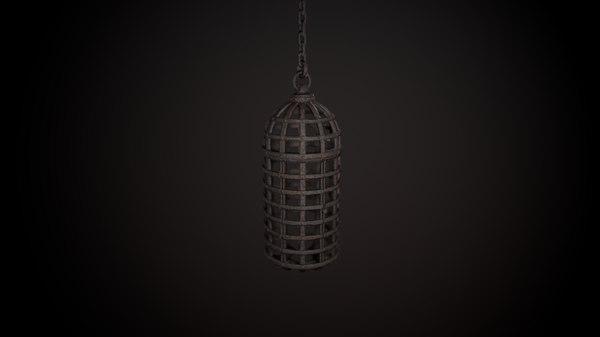 3D cage torture model