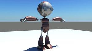 robotic character 3D model