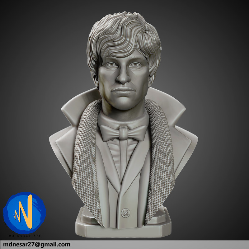 scamander printed 3D model