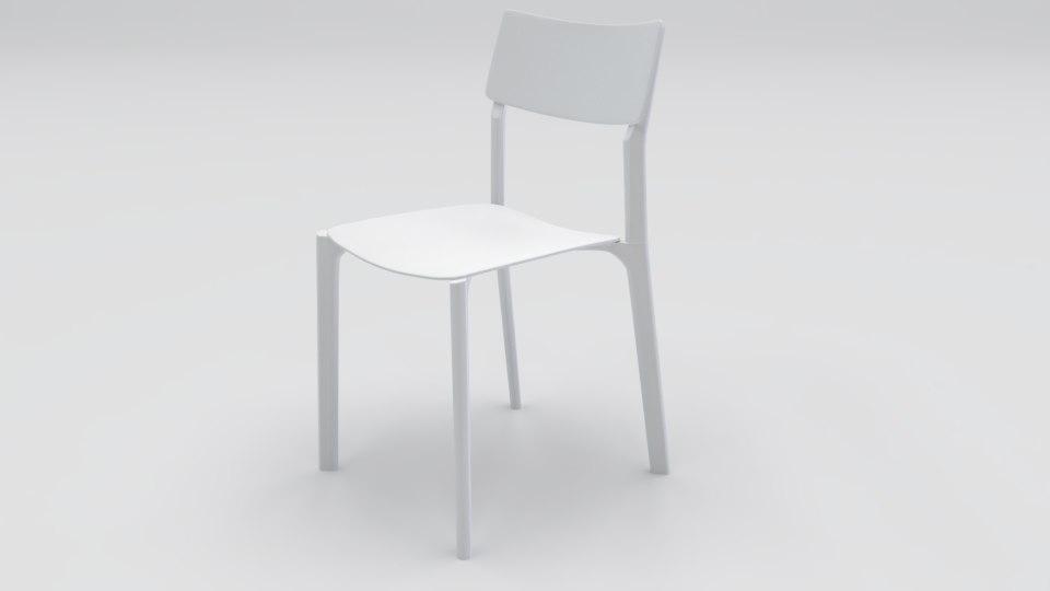 chair janinge 3D model