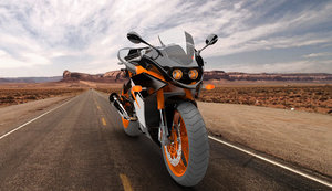 3D ktm motorcycle