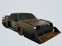 soviet car 3D model