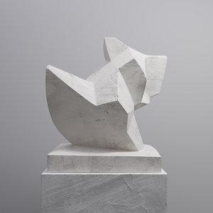 criver sculpture 3D