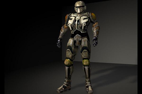 robot soldier 3D