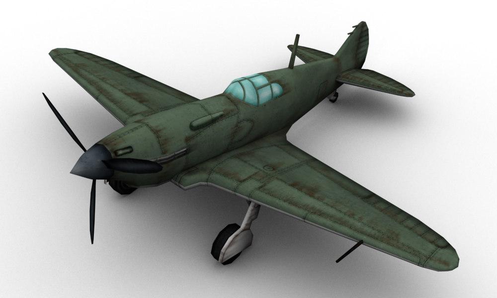 wwii lavochkin lagg-3 3D model
