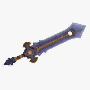 fantasy sword model